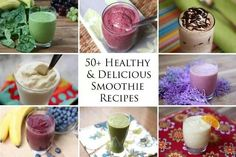 50 healthy smoothies