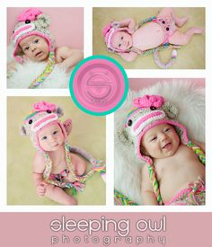 POPULAR Rainbow Sock Monkey HAT Size Newborn 3m 6m  Crochet Baby Photo Prop Etsy Girl Clothes HALLOWEEN Costume Christmas Winter 2012. $34.95, via Etsy.