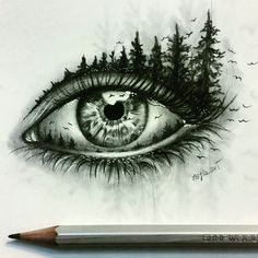 disegni a matita occhi - Cerca con Google