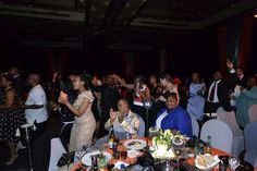 And the festivities begin! A snapshot of the celebration from IPM Convention 2014.