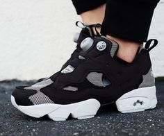 "The #Reebok Insta Pump Fury takes on a new look with this awesome ""Steel"" colorway  REHAB Online Magazine"