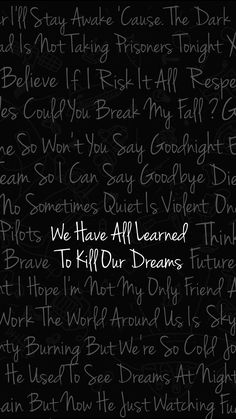 Twenty One Pilots Wallpaper Of Best Lyrics Tyler Joseph Josh Dun 21 Pilots Skeleton Clique