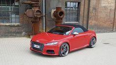 Audi TTS rot