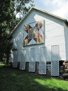 How to Hang a Barn Quilt - Stage 2 of Project | ConnieSlama
