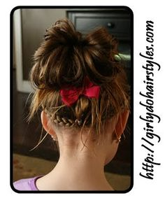 Girly Do Hairstyles, this site has AWESOME hair styles for little girls <3