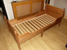 ikea leksvik 3 in 1 bed. ikea no longer makes this extendable bed in wood so I got a used one on ebay. now, what color should I paint it?