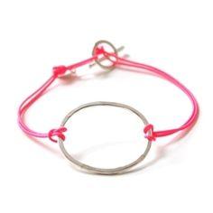 Loop bracelet in rec