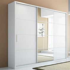 Manhattan Comfort 976 Bellevue 3-Door Wardrobe