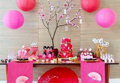 Festa infantil Japonesa - Bebê.com.br