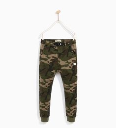 Image 2 of CAMOUFLAGE JOGGING TROUSERS from Zara