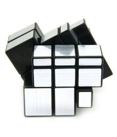 Cubic shape great gift for friends and collection brand new and high quality magic cube speed smooth puzzle game practice your brain and improve your memory and hand skills. You can buy this puzzle cube on snapdeal at very good price. Cube Puzzle, Gifts For Friends, Improve Yourself, Brain, Smooth, Magic, Shape, Mirror, Silver