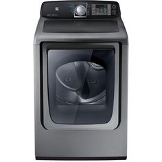 Buy 7.4 cu. Ft. Super Capacity HE Steam Gas Dryer - Stratus Grey Online & Reviews