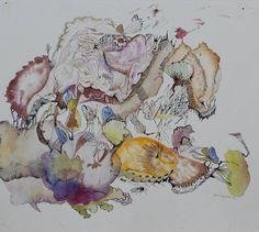 "Saatchi Art Artist Maria Letsiou; Painting, ""Etherial creature III"" #art"