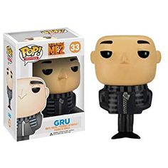 Gru from Despicable Me 2 as an awesomely stylized vinyl figure. This Despicable Me 2 Movie Gru Pop. Vinyl Figure features the unlikely protagonist of the film rendered in the adorable Pop. Gru Minion, Meme Minion, Minions Quotes, Despicable Me Gru, Minion Costumes, Pop Vinyl Figures, Toy Art, Funko Pop Dolls, Despicable Me