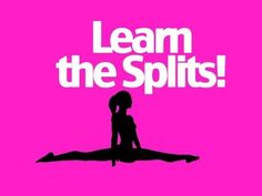 How to do the straddle/middle splits- full front split stretch tutorial - YouTube