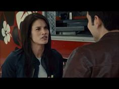 Rookie Blue - 4x7 - Sam talks to Andy at a food truck and then goes to work