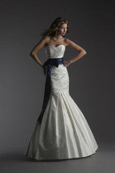 @Jenny WebbBellissima Coture - Letizia. Gorgeous wedding dress with sash.