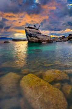 ~~The Bonsai Rock ~ Lake Tahoe, California by Kevin McNeal~~