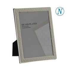 Κορνίζα ατσάλι ανοξείδωτο 10χ15 Silver Plate, Office Supplies, Plating, Frame, Picture Frame, Silverware Tray, Frames