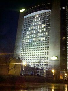 Oh Christmas tree downtown Spartanburg SC 2012