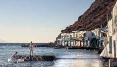 Klima, a tiny Ian Wright, Tiny Fish, His Travel, Nice Place, Turquoise Water, Travel And Leisure, Great Photos, Geology, Santorini
