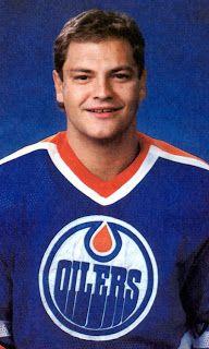 NHL Edmonton Olier Esa Tikkanen