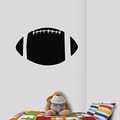 TGSIK American Football Wall Decals Stickers DIY Vinyl Removable Rugby Sport Wall Decor Graphics Mural Art Large Black Silhouette for Teen Boys Girls Children Kids Bedroom Living Room Decorations Olivia http://www.amazon.com/dp/B00LCTQ26O/ref=cm_sw_r_pi_dp_W7.0ub0D2C1WF