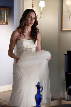 Pin for Later: The Killer Outfits on Pretty Little Liars Will Haunt You All Week Long Season 4 Looking like a true blushing bride. Source: ABC Family