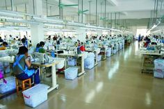 To achieve better T-Shirt garments production, sewing machine layout plays an important role in apparel industry, which is done by industrial engineers.