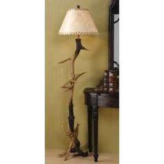Trophy Antler Floor Lamp   Dream Home - Accessories   Pinterest ...