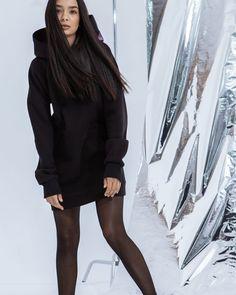 6ac7f209830 🎱Худи-платье. ⠀ ⚫️Женская удлиненная худи . Уютный футер (флис) сохраняет  тепло