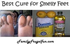 Never have foot odor again with the simple, quick fix recipe of things you have in your home right now!