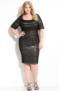 Holiday party dress.  #plus #size