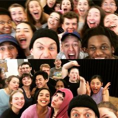 """Had a blast """"daring greatly"""" with these generous and brave young actors today @nyutisch"""