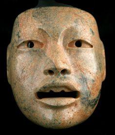Olmec Jade Maskette - CK.0739 Origin: Mesoamerica Circa: 1200 BC to 500 BC