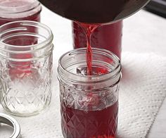 Fresh Berry Syrup recipe great instructions.  (try juicing the berries and skip first step.  juiced raspberries very thick sauce. try thinning with raspberry juice not water. very sweet.)