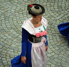 Impressions of a pageant of traditional costumes in Bad Reichenhall - seen from my window! (18) | Flickr - Photo Sharing!