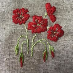 Hand Embroidery Projects, Hand Embroidery Patterns, Embroidery Applique, Floral Embroidery, Cross Stitch Embroidery, Embroidery Designs, Bordados Tambour, Zardozi Embroidery, Brazilian Embroidery
