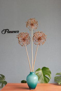 Keepsake Forever Flowers by Gigi Purple Orange Blue Eco Friendly Wood Flowers Pot White Country Tin Pink Sola Wood Hydrangea Tin