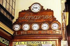 El Cronómetro, Sierpes, 21