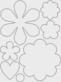 Gy Farias: Molde de flores