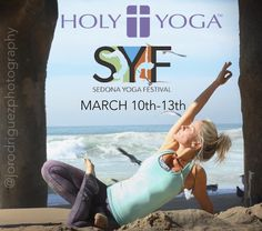"""Hey HY Tribe! Meet us in Sedona March 10-13th! Once again our very own @brookejboon is presenting Holy Yoga at The Sedona Yoga Festival! And don't worry....Brooke will be at """"Re-Retreat"""" too!!! Use her code {Brooke} for a discount on tickets! #holyyoga #syf #sedonayogafestival #yogaconference #sedona #arizona #yoga #yogateachersgospetpreachers #itsnotabouttheyoga"""