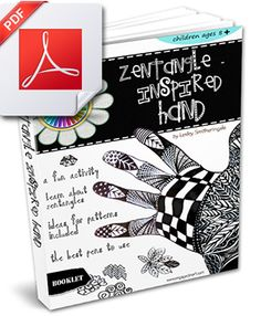 Zentangle for Kids - Hand Drawing