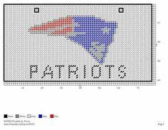 Patriots plate