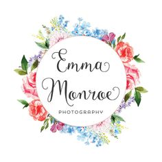 Premade Logo Design - Watercolor Floral Logo