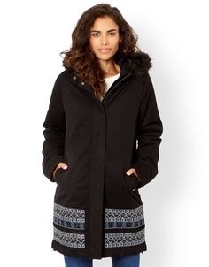MONSOON Edwina Embroidered Parka Coat.  UK14 EUR42  MRRP: £129.00GBP - AVI Price: £84.00GBP