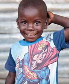 Cute boy in Monrovia (Liberia)