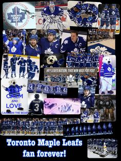 Toronto Maple Leafs fan forever! I made this, hope you like it! -Gillian W. (btrflygrl2002)