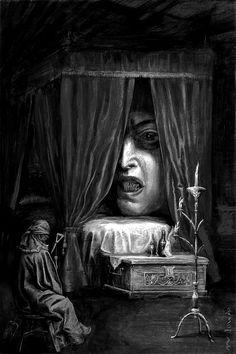 Illustration by Santiago Caruso. °