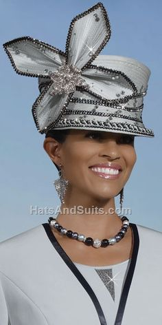 a8813dd8a0939 Donna Vinci Couture Church Hat  My mom would ve rocked the hell outta that